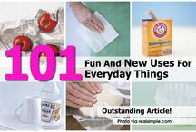 New uses for every day things