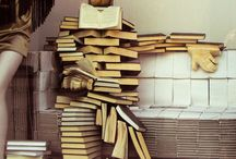 Decorating with Books / Ideas for incorporating your books into your home decor