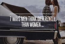7 WAYS MEN THINK DIFFERENTLY THAN WOMEN