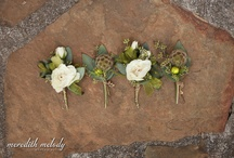 boutonnieres  / by Details Weddings & Events
