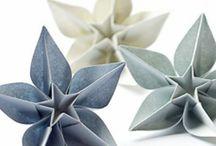 fleurs de papier et autres