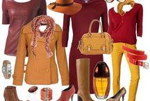 shades of fall / colourtype autumn inspiration warm & soft