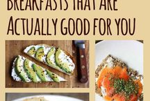 Quick and Easy Breakfast Options / by Kristen Knouff