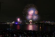 SYDNEY; 2013 - NEW YEARS EVE FIRE WORKS SPECTACULAR / FIRE WORKS SPECTACULAR
