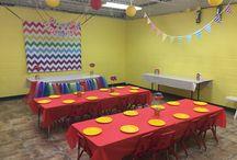 Rainbow Room at Palm Tree Playground