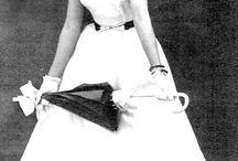 Moda década de 50 ♡