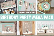 Miggy first birthday party