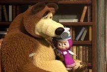 Máša a medvěd / děti je milují
