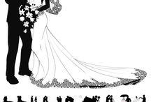 obrazki ślubne