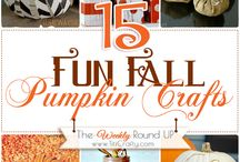 Pumpkin Crafts & Decor / by Lucille Kauffman