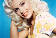 """Jayne MANSFIELD / Jayne Mansfield (born Vera Jayne Palmer; April 19, 1933 – June 29, 1967) was an American actress in film, theatre, and television. She was a major Hollywood sex symbol of the 1950s and early 1960s and 20th Century Fox's alternative to Marilyn Monroe who came to be known as the """"Working Man's Monroe"""".[1][2] She was also known for her well-publicized personal life and publicity stunts, such as wardrobe malfunctions.[3][4] She was one of Hollywood's original blonde bombshells.  / by ine"""