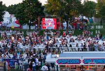 Centennial Park - Toronto Ribfest - June 27, 2014 / Another one of our annual events with multiple LED screen setups. Take a look at 4 different 24 panel setups at the Centennial Park for the Toronto Ribfest Festival.