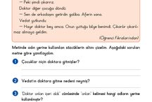 3.sinif Turkce