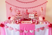 Party Tables Ideas / Baby shower buffets.