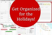 Holiday Organization Ideas