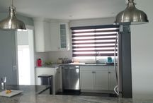 Dual Roller Shades / Zebra Shades / A modern style blind that presents flat sheer shadings with privacy while illuminating your room and creating a beautiful decor.