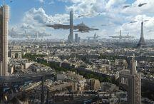 Sci-Fi Städte