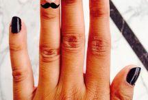 Nail art / Nail design, Creative, shades of pink, polka dots. Cute & beautiful nails !!!