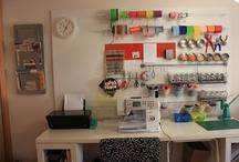 Taller de trabajo Chita Lou / Fotos de mi taller de trabajo. Intento mantenerlo lo más ordenado posible, aunque no siempre me sale.