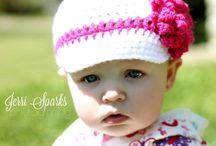 crochet pageboy hats / by Trisha Salerno