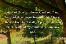 Scripture Verses / Encouraging Words