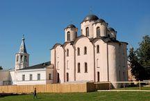 Архитектура Новгорода, Старой Ладоги, Пскова. 12 век