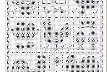 punto croce e  maglia