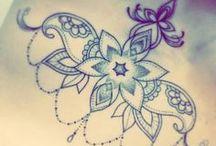 Borst tatoeages