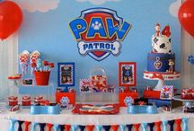 Paw Patrol themed party