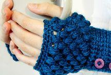 Fingerless & boot cuffs crochet