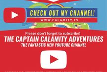 The Captain Calamity Adventures YouTube Channel / All images relating to The Captain Calamity Adventures YouTube Channel. YouTube.com/TheCaptainCalamityAdventuresChannel. www.calamity.tv