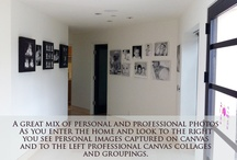 Our Studio: My Clients Homes / For over 12 years I have been helping our clients decorate their walls. In home sessions are complimentary for existing clients who wish to have us help print images and decorate their home. / by Ana Brandt Photography