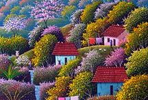 Дома, города, природа