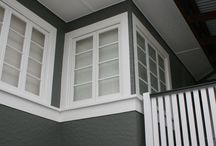 Exterior house colour scheme
