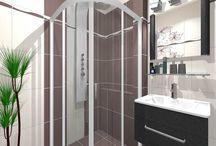 Návrhy koupelny 3D