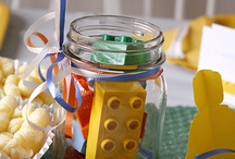 Kinderfeestje Bouwen / LEGO, blokken, wat je wilt. Omdat elk feestje een thema nodig heeft