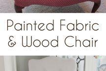 DIY - Painted Fabric