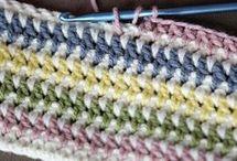 vintage striped crochet pattern