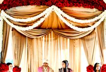Indian Engagement & Weddings / Design ideas for Indian-themed engagement parties or weddings
