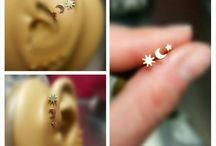 Cartilage earrings