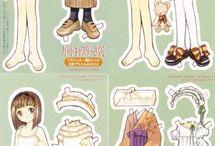 Anime paperdoll