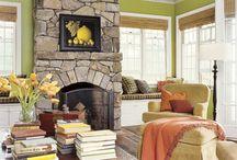 Fireplace Ideas / by Karen K