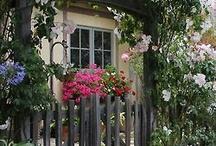 Zahrada branky