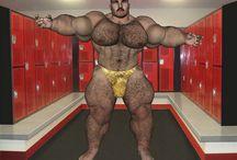 [Garth-Furry] Bodybuilder Hairy Muscle Bear / Bodybeef model 'Garth' - Visit http://www.bodybeef.com/studios/garth---premium-sets for Colton's nude photo sets!