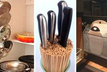 Oppbevaring på kjøkkenet