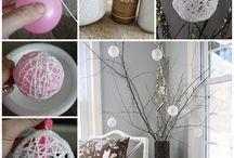 Décoration de Noël / A la recherche d'idées déco pour les fêtes de fin d'années ? Découvrez nos jolies images pour vous inspirer... #décoration #noel