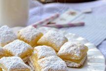 hojaldres rellenos crema pastelera