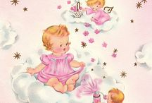 Vintage:  Greeting Cards / Vintage greeting cards for all occasions. / by Carlene @ Organized Clutter