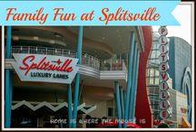 Disney Springs / Pins specifically about Walt Disney World's Disney Springs (formerly Downtown Disney) | Dining | Shopping | Snacks | Tips for Kids | Splitsville | Raglan Road | Cirque du Soleil La Nouba