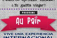 International Steps: International experiences / Además de Idiomas, también ofrecemos cursos y trabajos en el extranjero